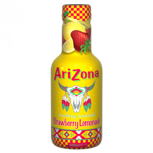 AriZona Cowboy Cocktail Strawberry Lemonade 500ml  ( Netherlands )
