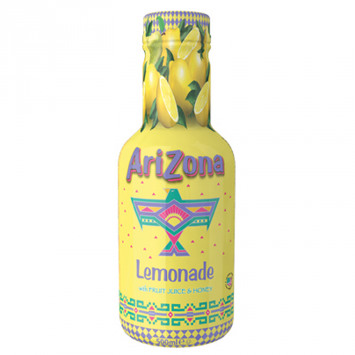 AriZona Lemonade with Fruit Juice & Honey 500ml ( Netherlands )