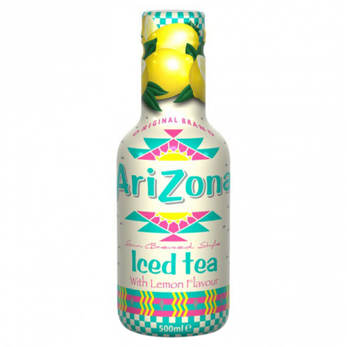 AriZona Sun Brewed Style Iced Tea with Lemon Flavour 500m ( Netherland )