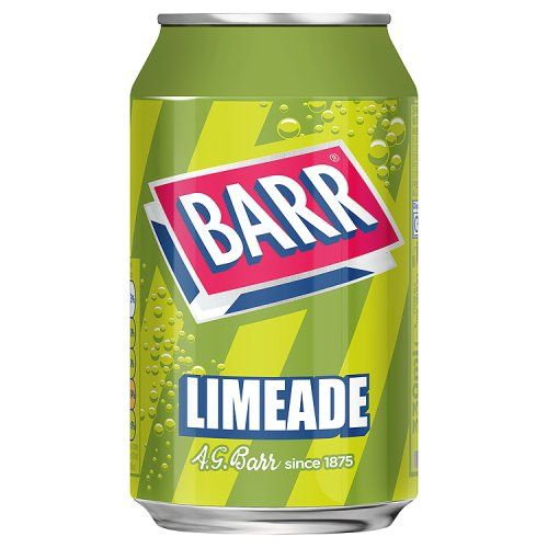 Barr Limeade 49p 330ml Can (UK)
