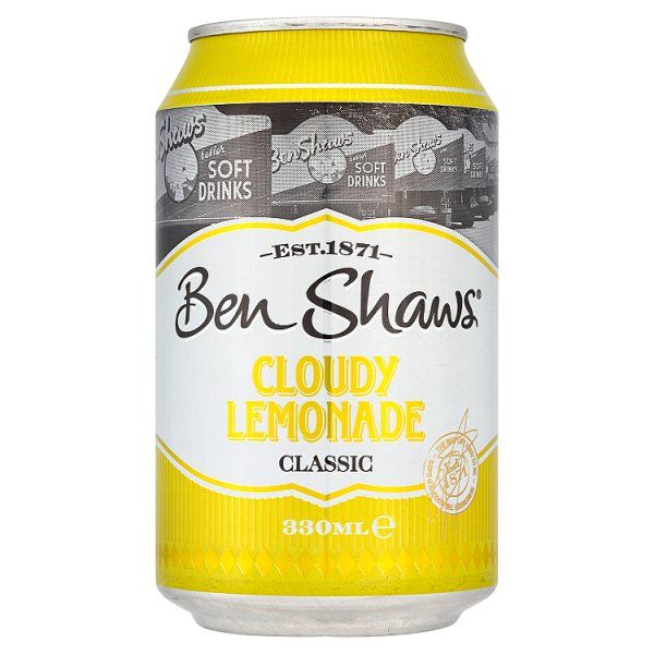 Ben Shaws Cloudy Lemonade Classic 330ml (UK)
