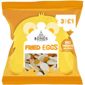 Bonds Fried Eggs	50g Packet (UK)