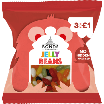 Bonds Jelly Beans 50g packet (UK)