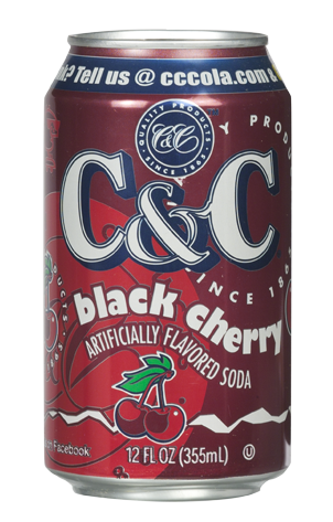 C&C Soda Black Cherry 355ml (US)