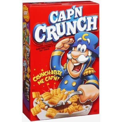 Cap'n Crunch Regular (Red) 14oz