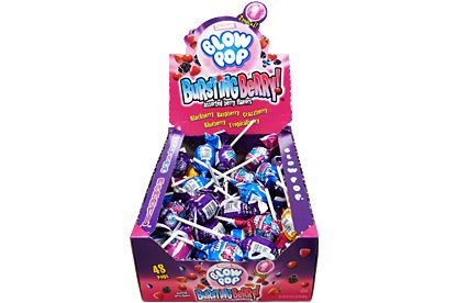 Charms Bursting Berry Blow Pops  (US)