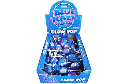 Charms low Pops Blue Razz Berry  (US)