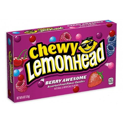 Chewy Lemonheads Berry Awesome Theatre Box 5oz (US)