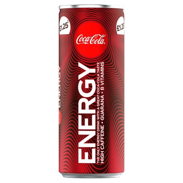 Coca-Cola Energy Drink 250ml (UK)