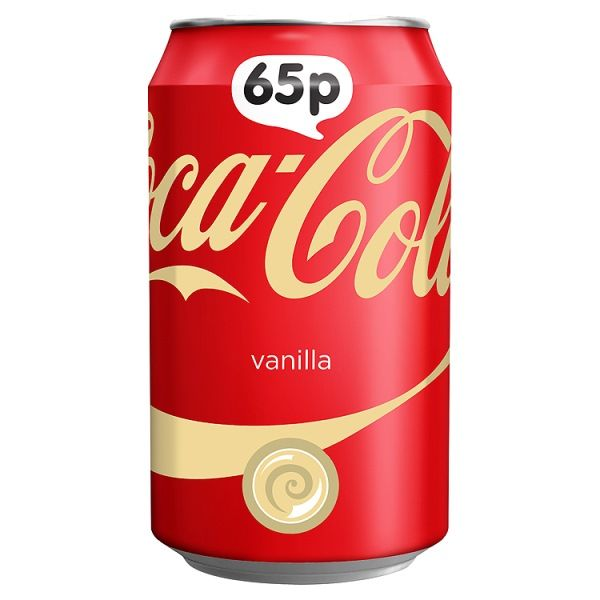 Coca-Cola Vanilla 330ml ( UK )