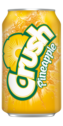 Crush Pineapple Can 355ml (US)
