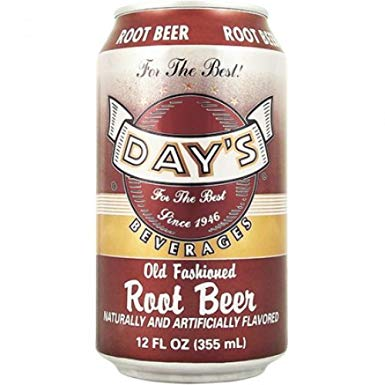 Day's Root Beer 355ml Can (US)
