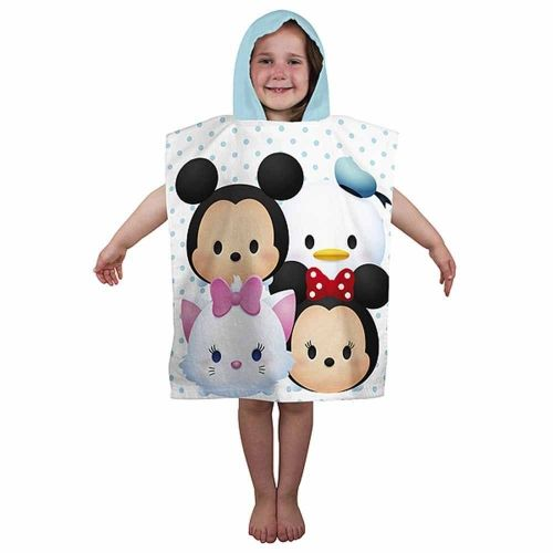 "Disney Tsum Tsum ""Huddle"" Character Hooded Towel Poncho"