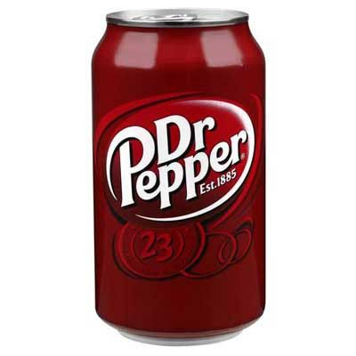Dr Pepper 355ml Can (US)