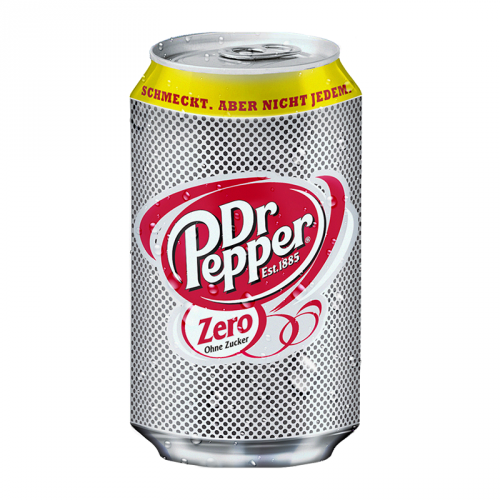 Dr Pepper Zero 330ml ( Poland )