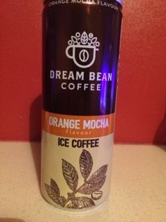 Dream Bean Coffee Orange Mocha Ice Coffee 250ml (Poland)