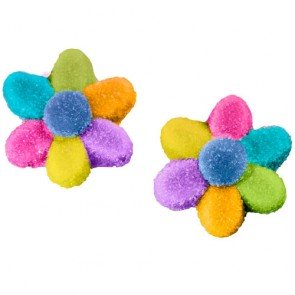 Dulce Plus Sour Multicolour Flowers 100g  ( Spain )