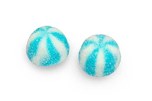 Dulce plus Sugar Blue Twist Kisses 100g ( Spain )