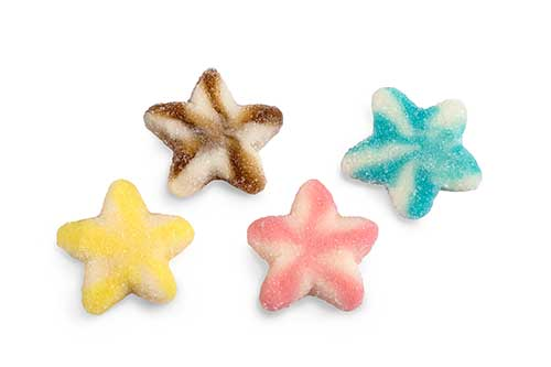 Dulce plus Sugar Mix Stars 100g ( Spain )
