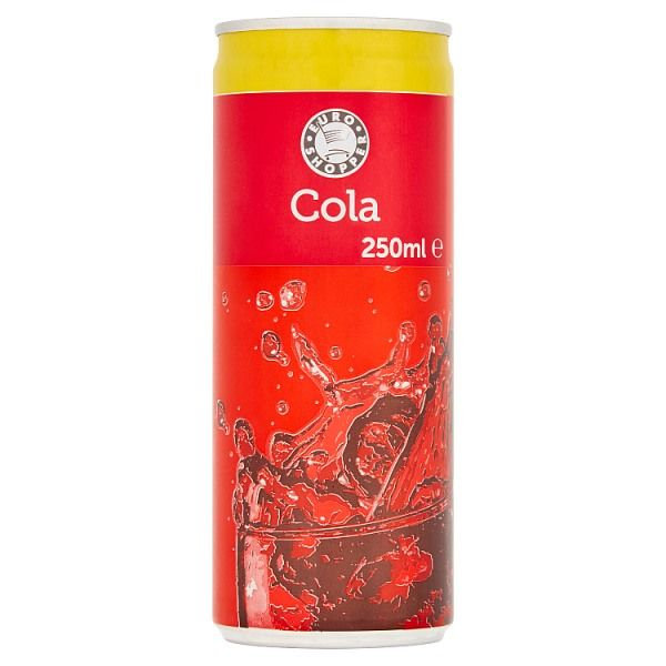 Euro Shopper Cola 250ml (UK)
