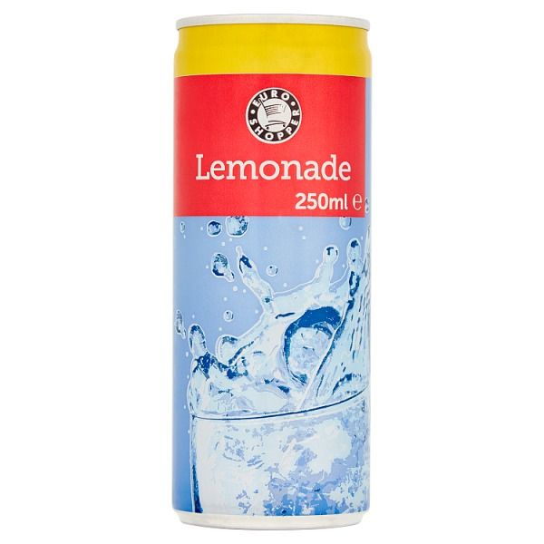 Euro Shopper Lemonade 250ml (UK)