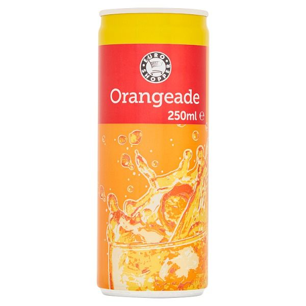 Euro Shopper Orangeade 250ml (UK)