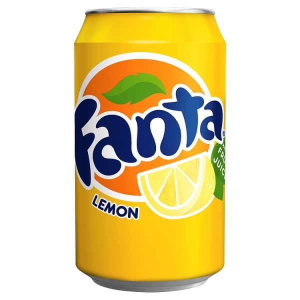 Fanta Icy Lemon 330ml  ( UK )