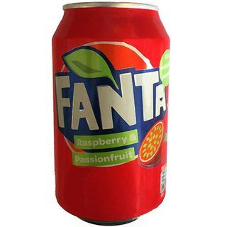 Fanta Raspberry & Passionfruit Can 330ml ( Denmark )