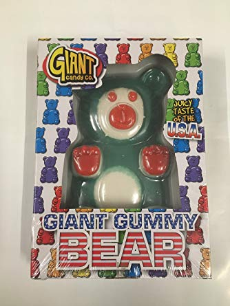 Giant Candy Co . Giant Gummy Bear U.S.A Taste