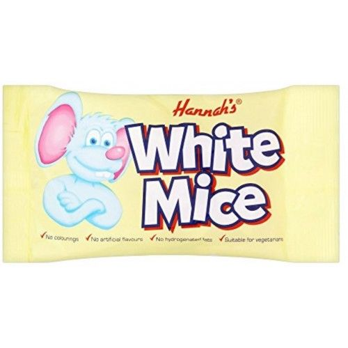 Hannah's White Mice 40g packet (UK)