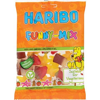 Haribo Funny Mix Share Size Bag (UK)