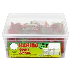Haribo Giant Apples 5p x 120 Tub
