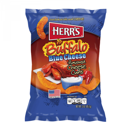 Herr's Buffalo Blue Cheese Curls 3oz (85g) ( US )