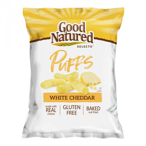 Herr's Good Natured Selects White Cheddar Puffs 6.5oz (US)