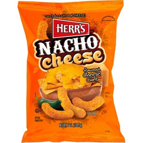 Herr's Nacho Cheese Curls 7oz (199g) (US)
