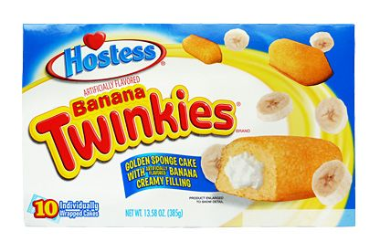 Hostess Banana Twinkies (box of 10) (US)
