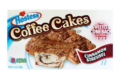 Hostess Coffee Cakes (box of 8) (US)