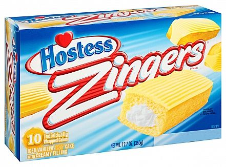 Hostess Vanilla Zingers (box of 10) (US)