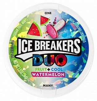 Ice Breakers Duo Watermelon + Cool  (US)