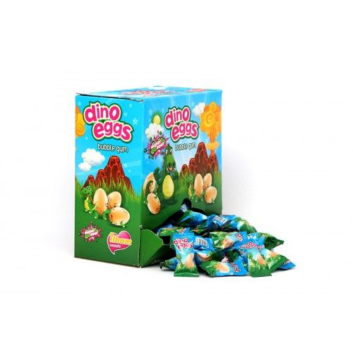 Iham Dino Eggs 5p Gum ( Turkey )