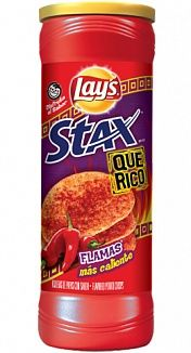 Lay's Stax Flamas (156g) (US)