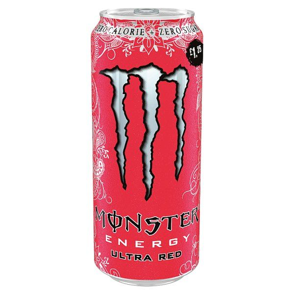 Monster Energy Ultra Red 500ml (UK)