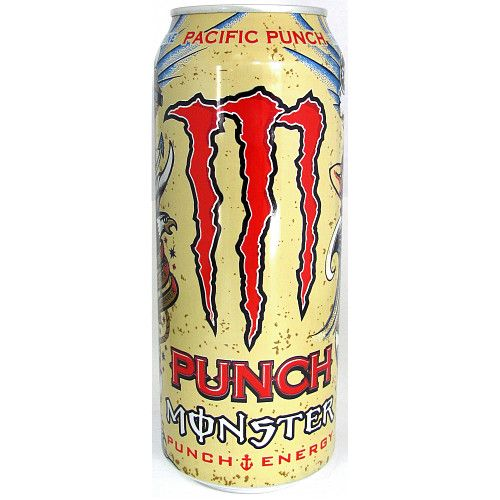 Monster Pacific Punch 500ml Case 12 Cans (UK)