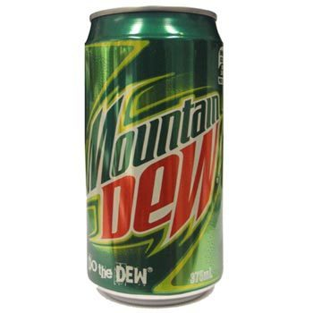 Mountain Dew (355ml) ( New Zealand )
