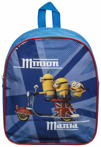"Official Despicable Me ""Minions"" Character Junior School Backpack"