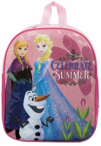 "Official Disney ""Frozen"" Character Junior School Backpack With Olaf"