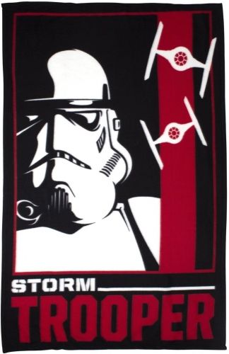 "Official Star Wars ""Classic"" Character Fleece Blanket Snuggle Throw"