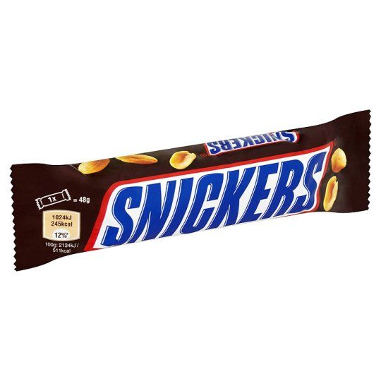 Snickers Single 50G (UK)