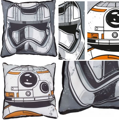 "Star Wars The Force Awakens Order ""Reversible"" Character Plush Cushion"