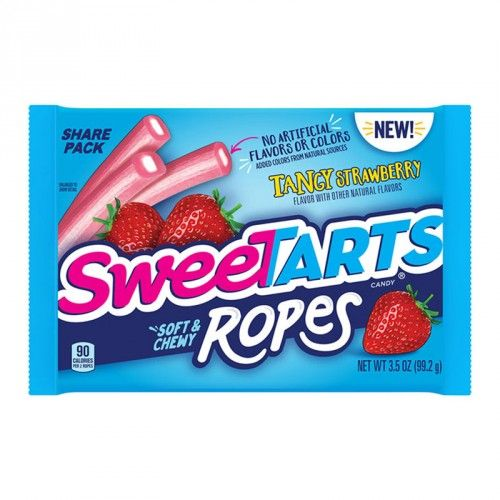 SweeTarts Ropes Tangy Strawberry Share Size 3.5oz (US)